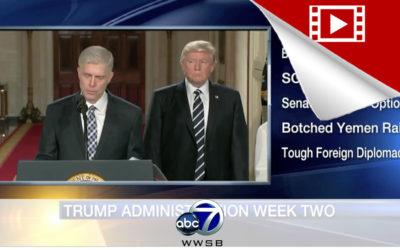 Recapping President Trump's 2nd Week
