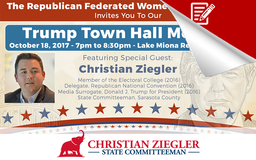 Trump Town Hall In The Villages