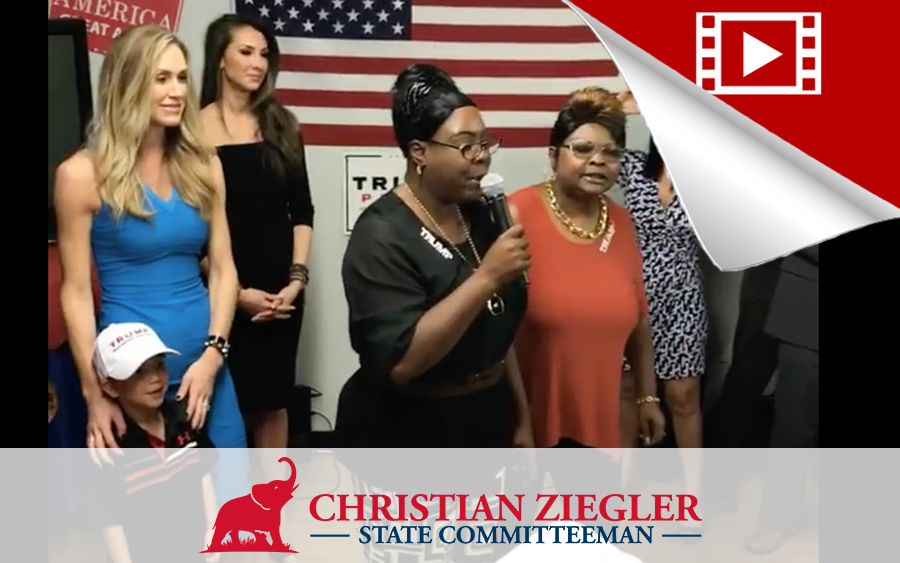 Lara Trump, Diamond & Silk Visit Sarasota