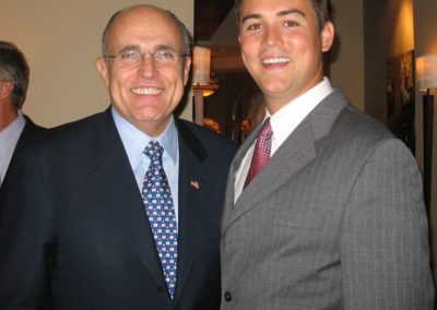 NYC Mayor Rudy Guiliani