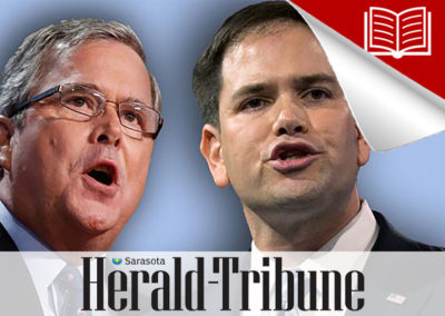 Bush's Departure Should Lift Rubio