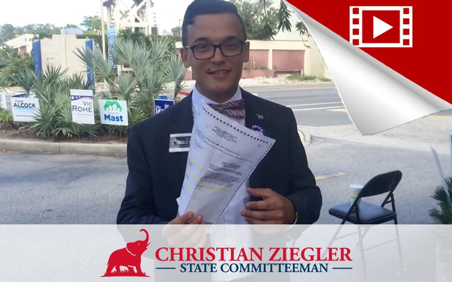 VIDEO: Sarasota Democratic Party Upsets Democratic Candidate
