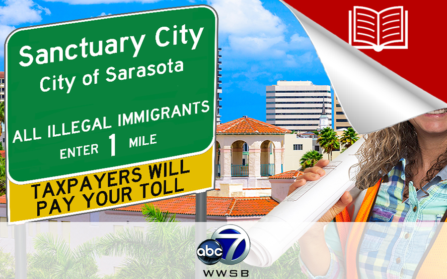 Sanctuary City Protesters Filled Area Streets