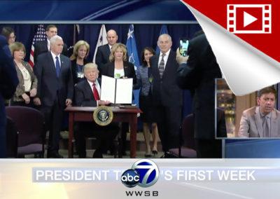 Recapping President Trump's 1st Week