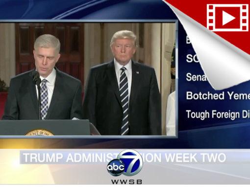 Recapping President Trump's 2nd Week