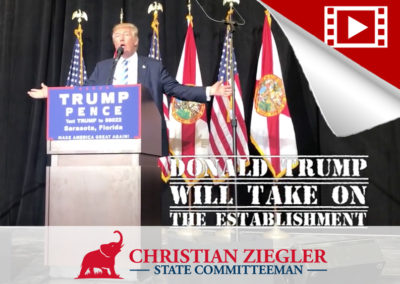Election Eve – Trump Visits Sarasota