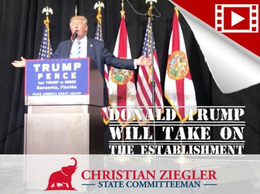 Election Eve – Trump Visits Sarasota